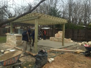 pergola_outdoor_kitchen_build