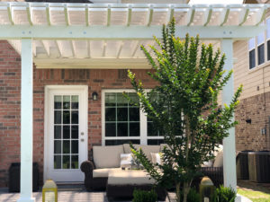 white_painted_pergola_houston